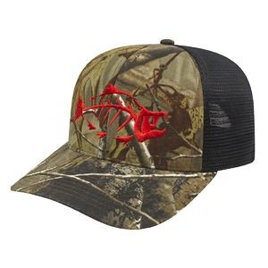Flexfit 110® Camo Trucker Mesh Back Cap