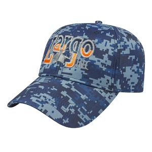 Sublimated Digital Camo Cap