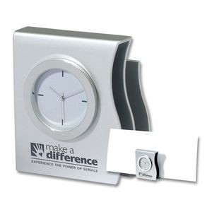 2-in-1 Desk Clock and Organizer