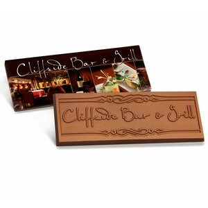 "Custom Wrapper & Chocolate Bar (2""x5"")"