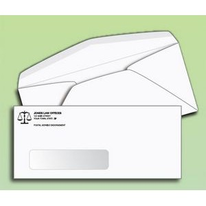 #10 Window Envelopes - One Color