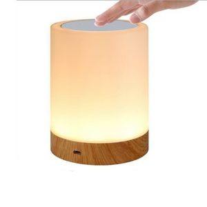 Round Shape Touch Senor Dimmable Lamp Nightlight