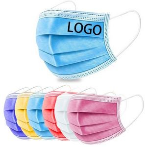 Disposable Face Mask with Imprint