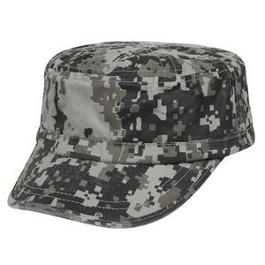 Camo Washed Army Cap (Blank)