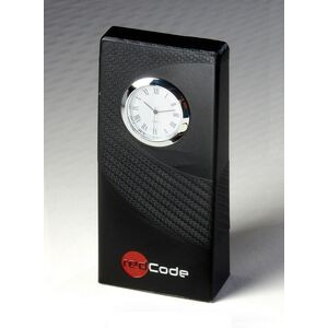 Carbon Fiber Textured Clock