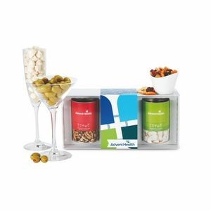 3 Way Boozy Snacks Gift Set - Ultimate Bar Gift Set