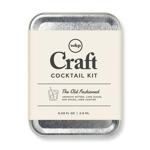 W&P Old Fashioned Virtual Cocktail Kit - Stainless Steel
