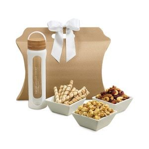 Bali Retreat & Relax Treats Tote White-Natural