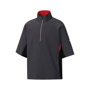 FootJoy® HydroLite™ Heather Charcoal Gray Short Sleeve Rain Shirt