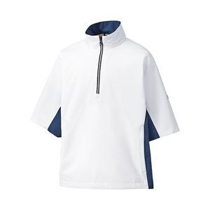FootJoy® HydroLite™ White Short Sleeve Rain Shirt