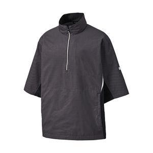 FootJoy® HydroLite™ Charcoal Gray Short Sleeve Rain Shirt