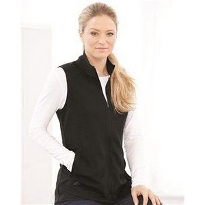 Adidas Women's Lifestyle Textured Full-Zip Vest