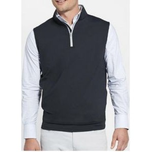 "Peter Millar ""Galway"" Quarter-Zip French Terry Vest"