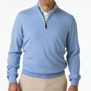 Fairway & Greene Men's Merino Classic Quarter-Zip Pullover Shirt