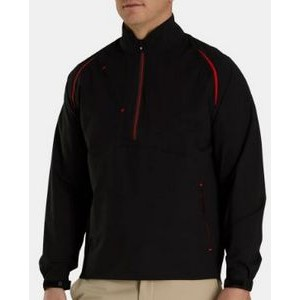 FootJoy® DRYJOYS® Select LS Rain Shirt (Black/Red)