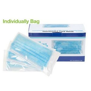 Individually Packed 3-PLY Disposable Face Mask