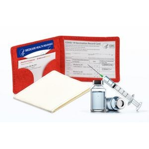 Paperzen Covid-19 Vaccination Card Holder
