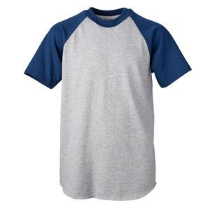 Soffe® Youth Short Sleeve Baseball Tee