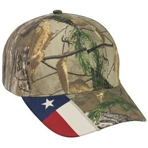 Structured W/Camo Flag Visor Insert
