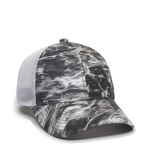 Moisture Wicking Camo Mesh Back