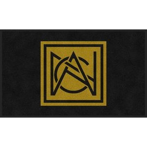 2'x3' Flocked Olefin Indoor Logo Mat - 1 Color
