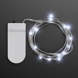 Cool White Craft String Lights - BLANK