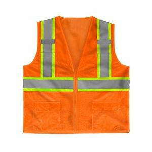ANSI Class 2 Deluxe 8 Pocket Vest