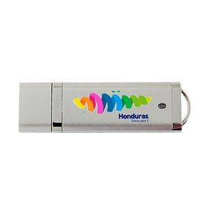 Rectangle USB Drive w/ Removable Cap (2GB)