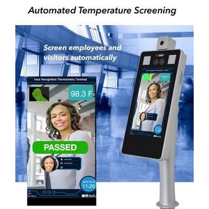 Automated Temperature Screening and Face Recognition Kiosk