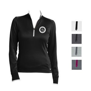 Nike Ladies' Dri-FIT 1/2-Zip Cover-Up