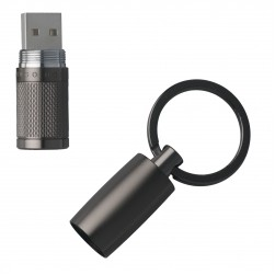 HUGO BOSS Pure Matte Dark Chrome USB Stick